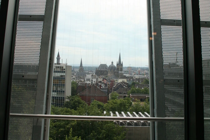 View of Aachen Cathedral
