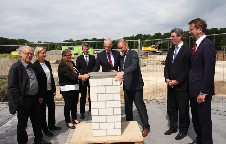 Groundbreaking for Photonics Cluster on RWTH Aachen Campus