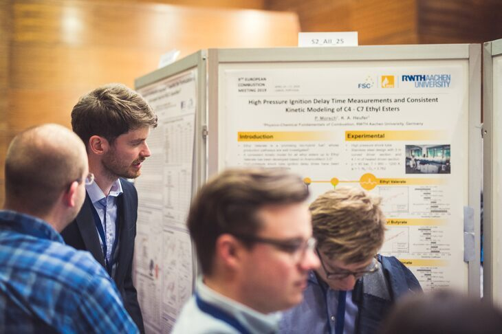 Poster Session beim 9. European Combustion Meeting